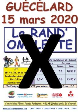 2020-03 Rand'Omelette annulée