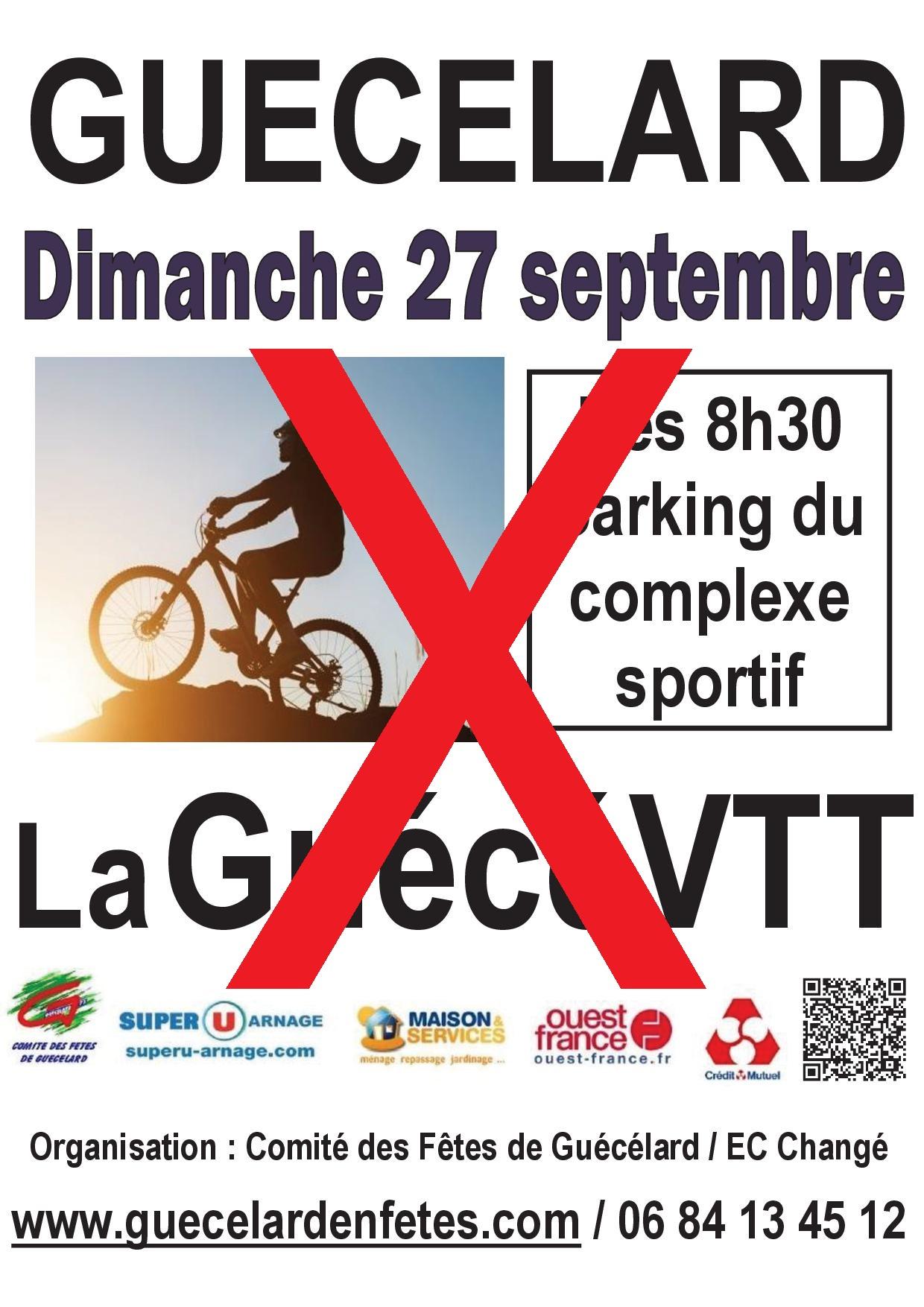 2020-09 affiche GuécéVTT Annulé